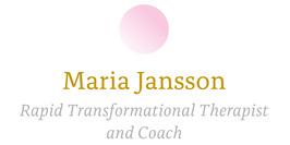 Maria Jansson - Rapid Transformational Therapist & Coach