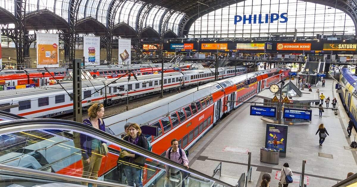 Deutsche Bahn unveils fully autonomous train in Hamburg