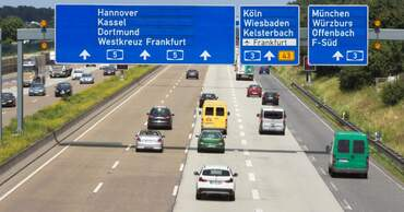 The German autobahn