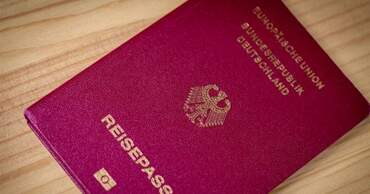 The German passport (deutscher Reisepass)